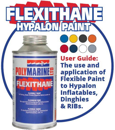 Flexithane Flexible Hypalon Paint User Guide | Polymarine