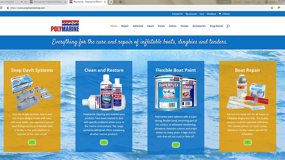 Visit our new Polymarine Direct Shop