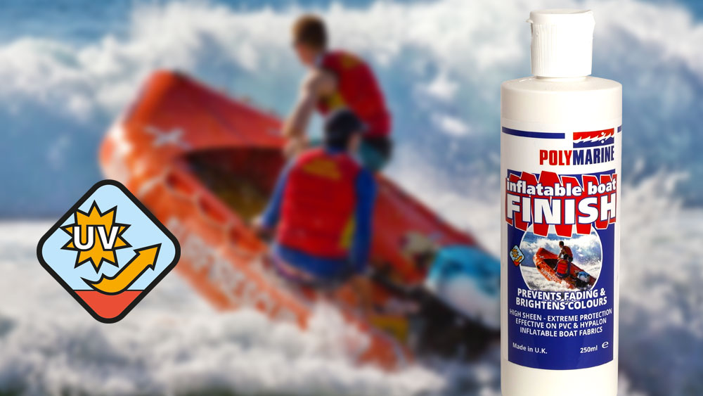 UV protection for RIBs and Inflatables