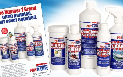 Top products to clean inflatable boat tubes, RIBs and paddle boards